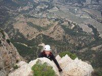 escalador desde arriba