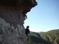 paisaje de escalada