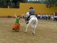 baile con caballo