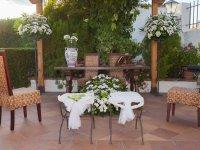 mesa para bodas civiles