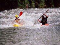 Kayak con el instructor