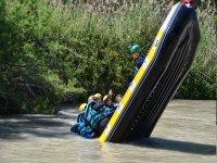 从筏上掉下来的水
