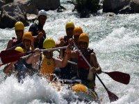 Rafting en estado puro