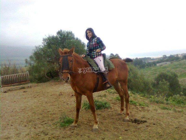 A caballo en Tarifa