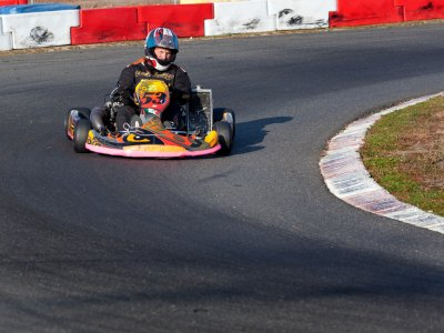 Go-kart round for adults Alcalá del Río 10 minutes