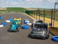 Tanda en karting biplaza Alcalá del Río 10 minutos