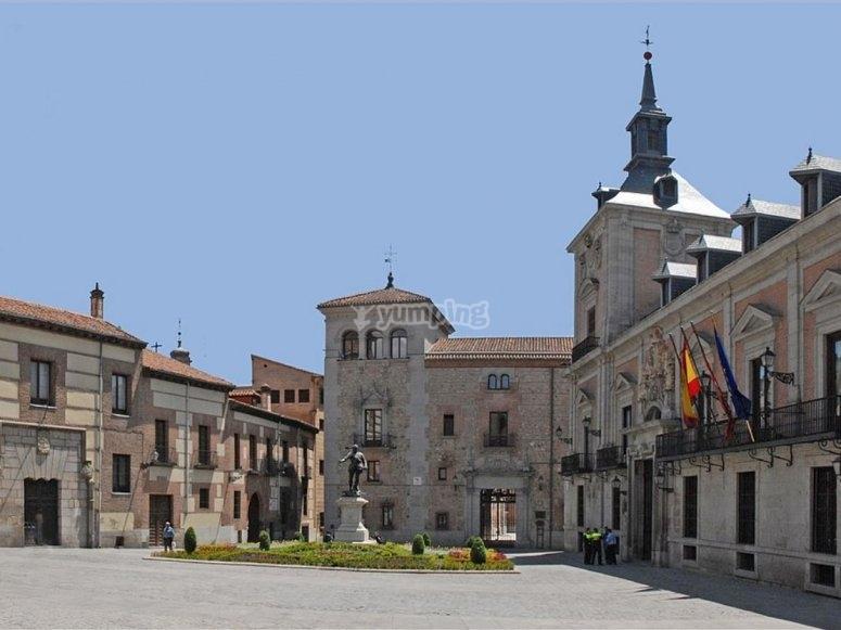 Plaza de la Villa en Madrid