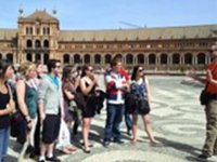 Learning from Seville's history with a guided tour