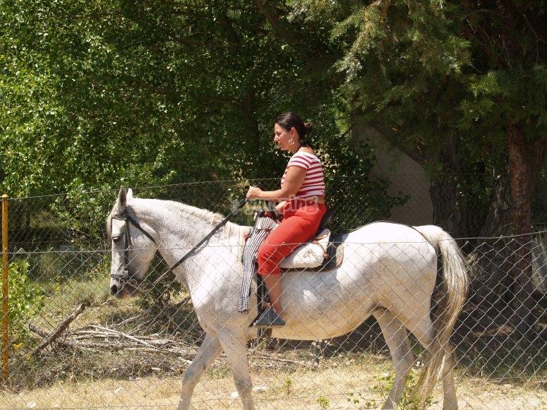 Pasándolo genial a caballo