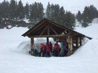 Preparandonos para la aventura en la nieve