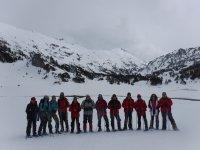 Un dia de nieve en Huesca