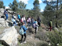 Trekking with young people