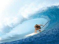 Padendo las olas