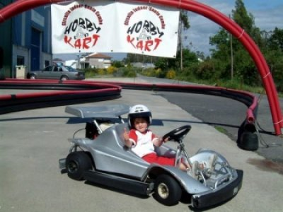 Junior Go-karting in Santa Comba 7 minutes