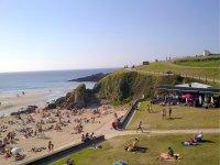 Playa de Tapia休息区