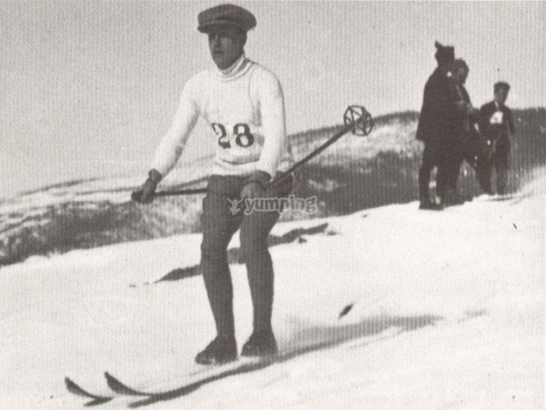 Historia de los deportes de aventura - Esquí