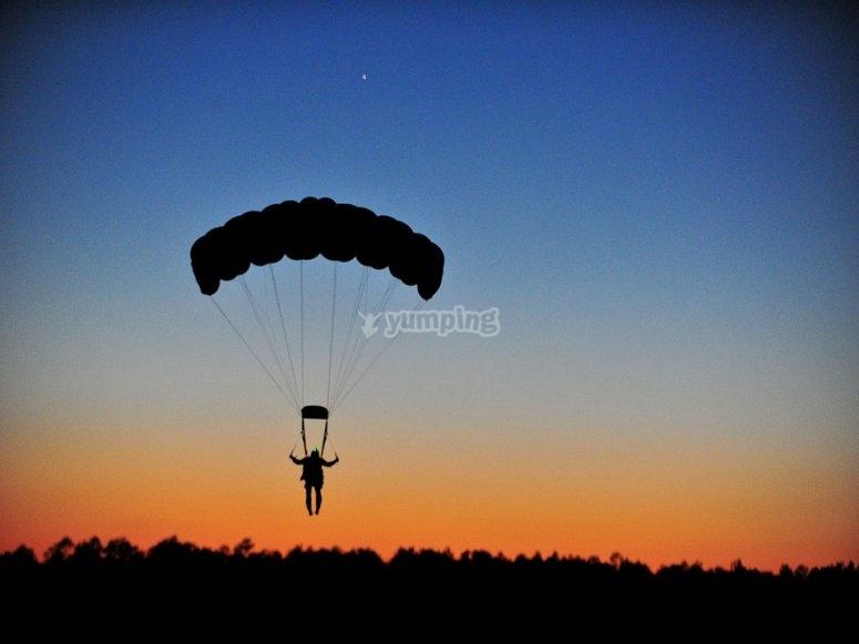 Historia de los deportes de aventura - Paracaidismo