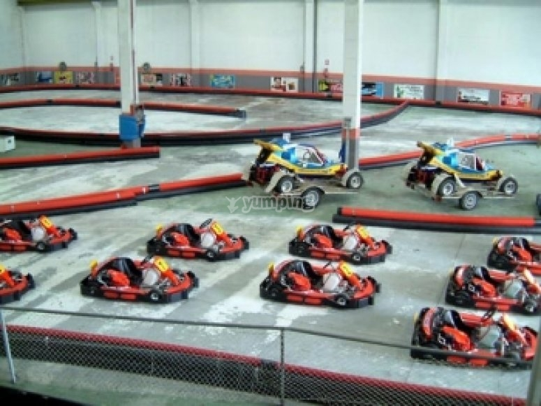 Go-karting competition