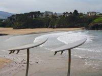 Tapia de Casariego和Surf海滩齐头并进