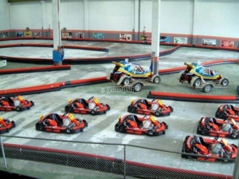 Mini gran premio de karting