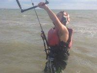 Pratica kitesurf in diversi centri