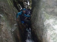 Mid-Level Canyoning Down Barranco de La Leze