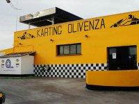exterior karting olivenza