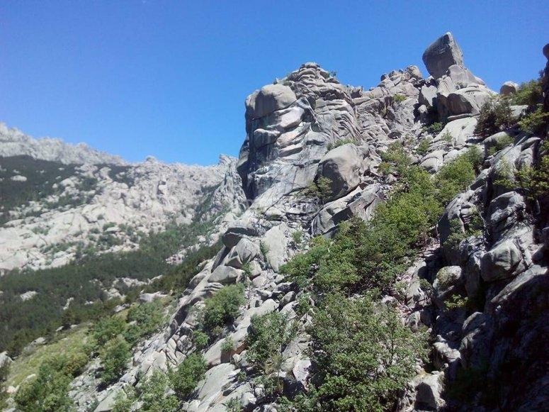 Dónde escalar en Madrid - La Pedriza