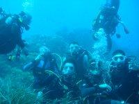 Diving in Losa del Payo