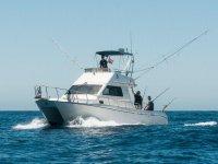 Barco de pesca en Maspalomas