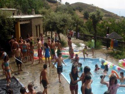 7月21日至30日在Alpujarra露营