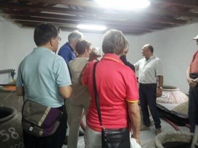 Visita guiada bodega + comida tradicional, Bolaños