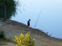 Pesca en Camping Bolaso