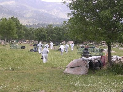 Paintball 100 palline, Becerril de la Sierra, adulto