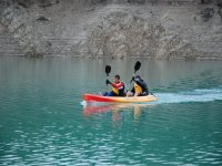 Canoeing for two