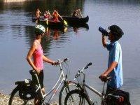 El Rodano en bicicleta