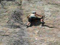 Climbing in the Pedriza
