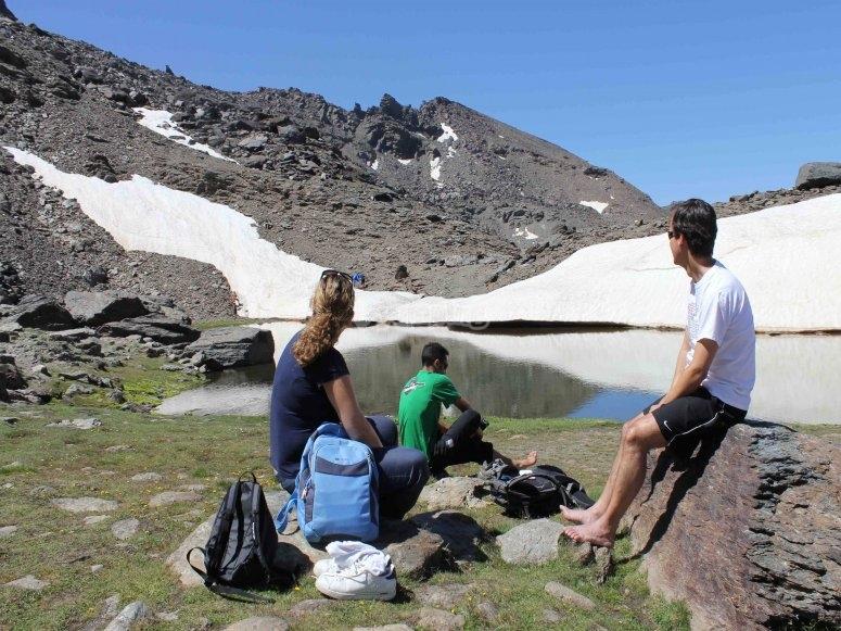 Actividad de verano en Sierra Nevada