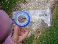 Learning to use the compass