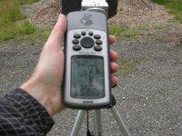 GPS on the mountain