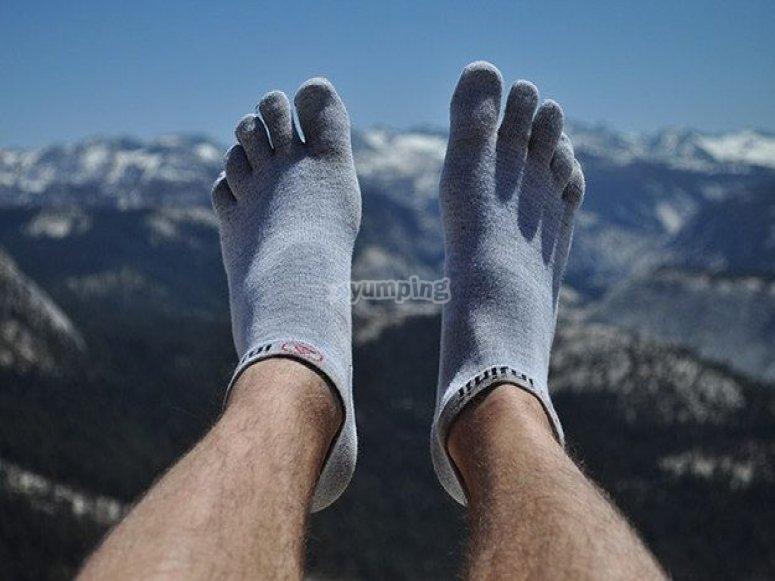 Como evitar ampollas - Cámbiate de calcetines