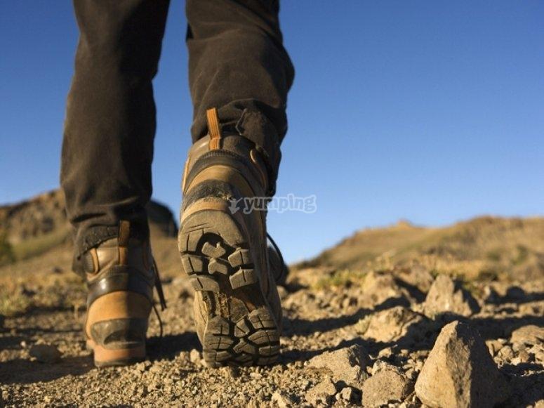 Como evitar las ampollas - Calzado Trekking