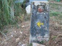 Indicador del Camino de Santiago