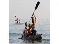 kayak en familia