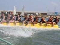 On the banana boat