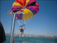 Volando solo en parascending