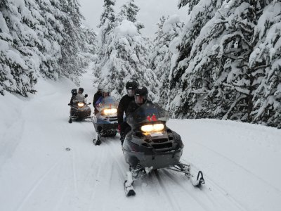 1h Individual Snowmobile Route to Montgarri