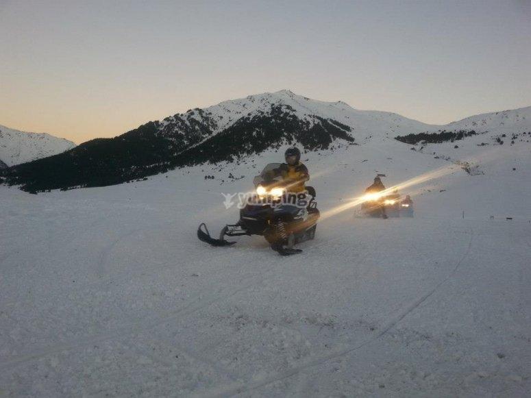 雪地摩托车路线