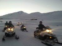 Ruta en moto de nieve biplaza a Montgarri 14 km