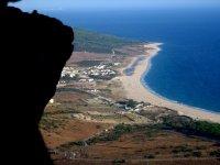 从另一个角度看海滩
